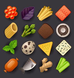 Food icon set-2 vector