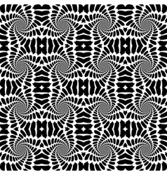 Design seamless monochrome abstract background vector