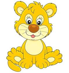 Little lion vector