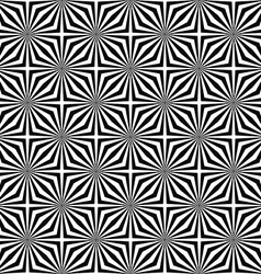 Seamless monochromatic stripe design pattern vector