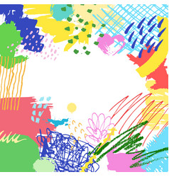 colorful artistic creative background vector image vector image