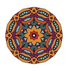 doodle mandala design vector image vector image