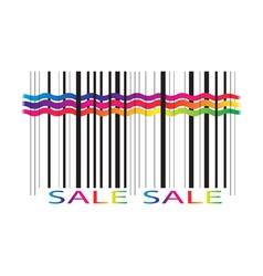 Sale label isolated on white background vector image