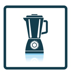 Kitchen blender icon vector