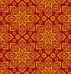 beautiful oriental pattern vector image vector image