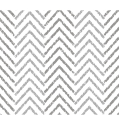 Gray zigzag grunge pattern vector image