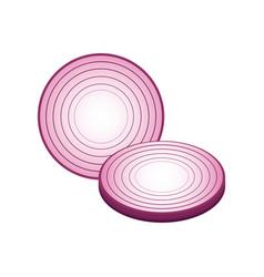 healthy vegetable icon vector image