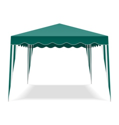 Pop up gazebo vector