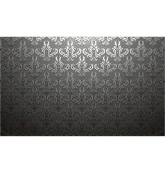 Damask web banner vector