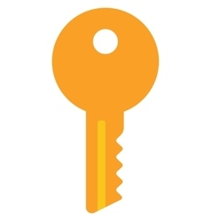 House or car key vector image vector image