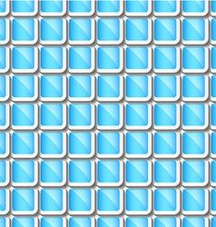 Rectangular geometric vector image vector image