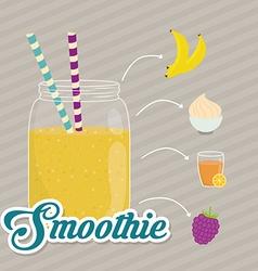 Smoothie design vector