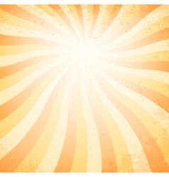 sunset vintage background vector image vector image
