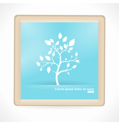 Abstract Tree Artboard vector image