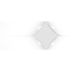 Realistic paper corners isolated on transparent vector