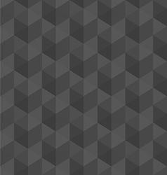 Dark grey geometric seamless pattern background vector
