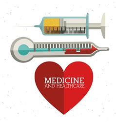 Medicine and healthcare design vector