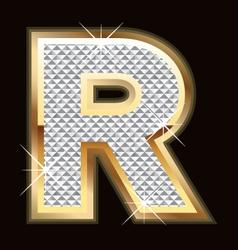 r bling bling vector image
