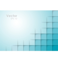 Abstract Square Blue Background vector image