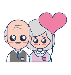 couple together with relationships romance and vector image