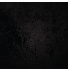 Dark grunge background wtih scratches and staines vector image vector image