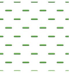 Light green rectangular button pattern vector