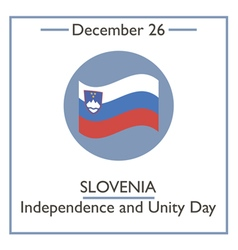 Slovenia independence and unity vector