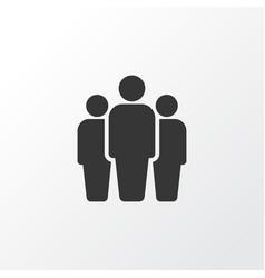 Team icon symbol premium quality isolated group vector