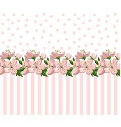 vintage roses floral card summer roses vector image vector image