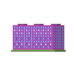 Big purple condiminium vector