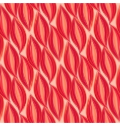 Seamless pattern red petal background eps 10 vector