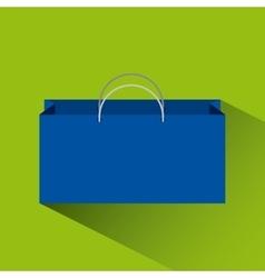 shopping bag icon vector image vector image