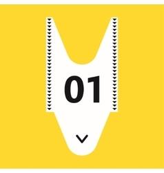 Shopping queue ticket - vector