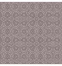 Violet simple vintage floral seamless pattern vector