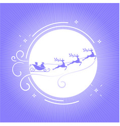 Silhouette christmas day 6 vector
