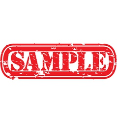 Sample stamp vector