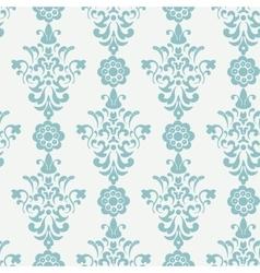 Floral retro wallpaper vector