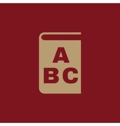 Alphabet icon design library and abc vector