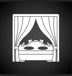 Boudoir icon vector