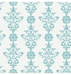 Floral retro wallpaper vector image vector image