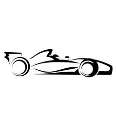 formula 1 vector image vector image