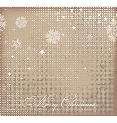 Romantic christmas background vector