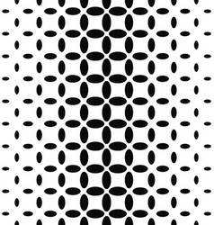 Black and white ellipse pattern background vector