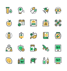 Medical and Health Icons 2 vector image