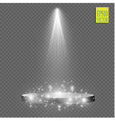 Spotlights scene light effects vector