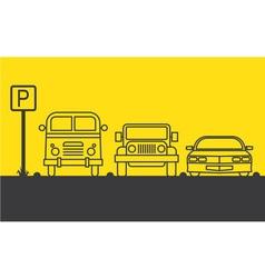 Zone parking vector