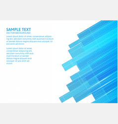 Abstract of blue and white background with copy vector