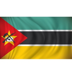 Flag of Mozambique vector image