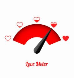 Love meter vector