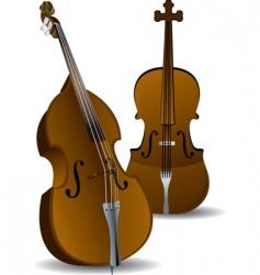 cellos vector image